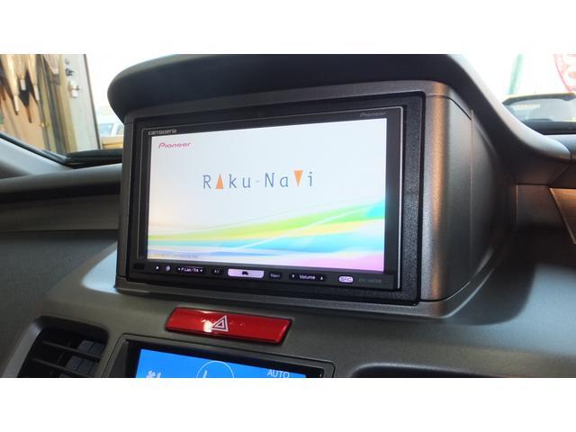 ホンダ オデッセイ M 後期型 社外HDDナビ地デジTV