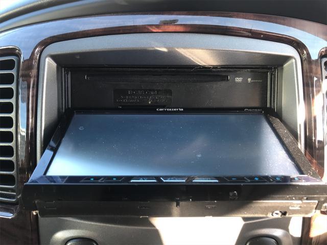 リミテッド 4WD ナビ サンルーフ バックカメラ 革シート AW オーディオ付 DVD 後席モニタ ETC 5名乗り AT AC(10枚目)