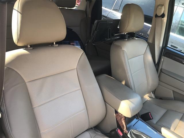 リミテッド 4WD ナビ サンルーフ バックカメラ 革シート AW オーディオ付 DVD 後席モニタ ETC 5名乗り AT AC(27枚目)