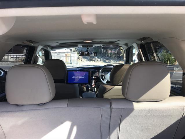 リミテッド 4WD ナビ サンルーフ バックカメラ 革シート AW オーディオ付 DVD 後席モニタ ETC 5名乗り AT AC(42枚目)
