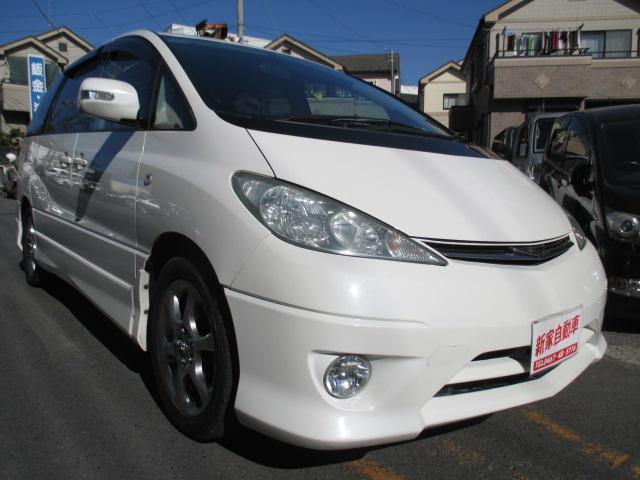 トヨタ エスティマL アエラス-S ナビ バックモニター ETC