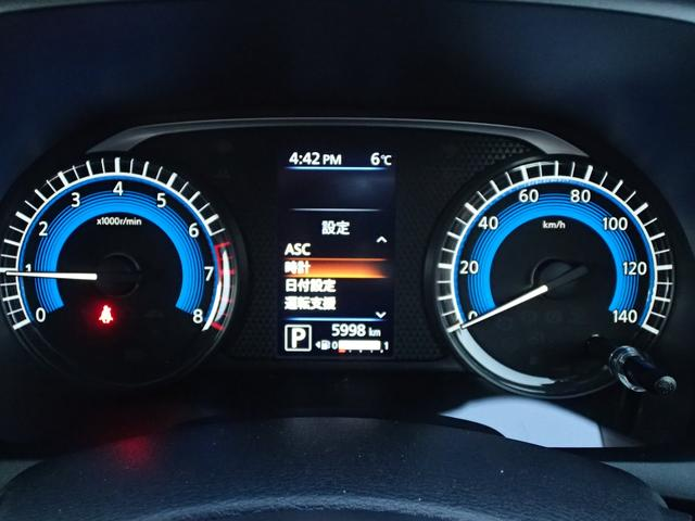 G 4WD 衝突被害軽減ブレーキ 前後進誤発進抑制機能 車線逸脱警報 横滑り防止装置 前後障害物センサー LEDヘッドライト オートマチックハイビーム サイド&カーテンエアバック シートヒーター(30枚目)