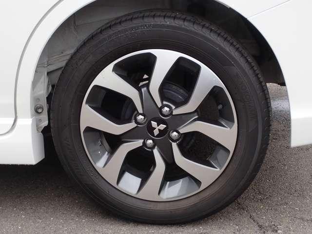 165/65R15エコタイヤがお勧め 純正15インチアルミホイール