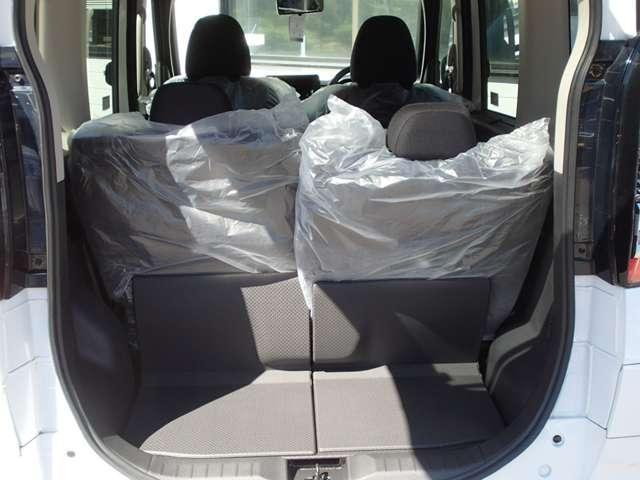 T  4WD ターボ車 インパネCVT パドルシフト付き 先進安全・快適・後席-Cパッケージ 届出済未使用車 両側電動スライドドア シートヒーター 純正15インチアルミ 衝突被害軽減ブレーキ 踏み間違え防止アシスト コーナーセンサー(前後)オンライン相談可能(13枚目)