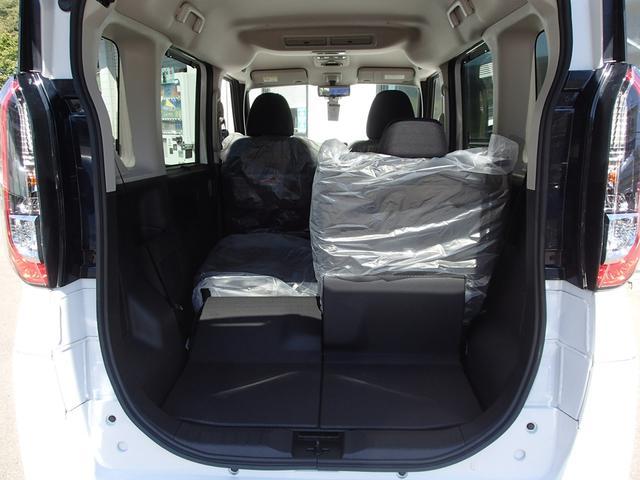 T 安全・快適・後席PKG 届出済未使用ターボ 4WD 左右電動スライドドア 全方位カメラ フルエアバック マイパイロット コーナーセンサー 横滑り防止装置 フォグランプ 電動格納リモコンドアミラー 禁煙(50枚目)
