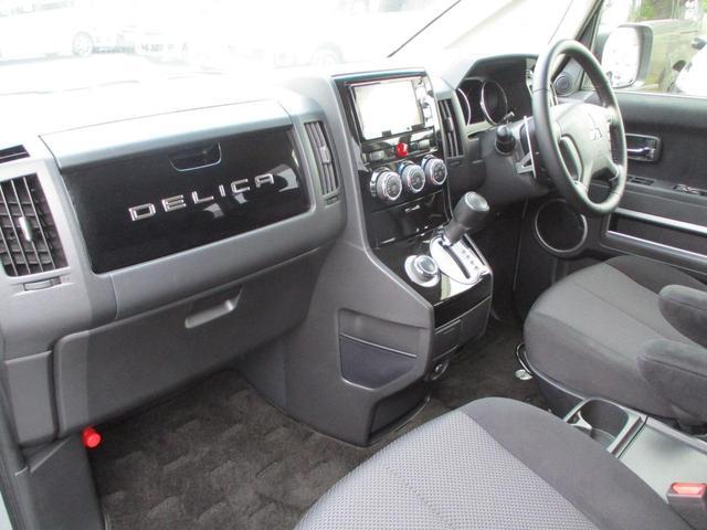 2.2L ローデスト Dパワーパッケージ ディーゼルターボ 4WD 8人乗り ブラック内装 ナビパイオニア7インチナビ バックカメラ ETC 両側電動スライドドア スマートキー HIDオートライト 車検整備付き 三菱認定U-CAR(42枚目)