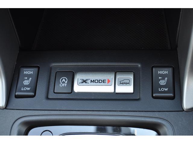 Xモードスイッチ&シートヒータースイッチ、使いやすくレイアウトされてます