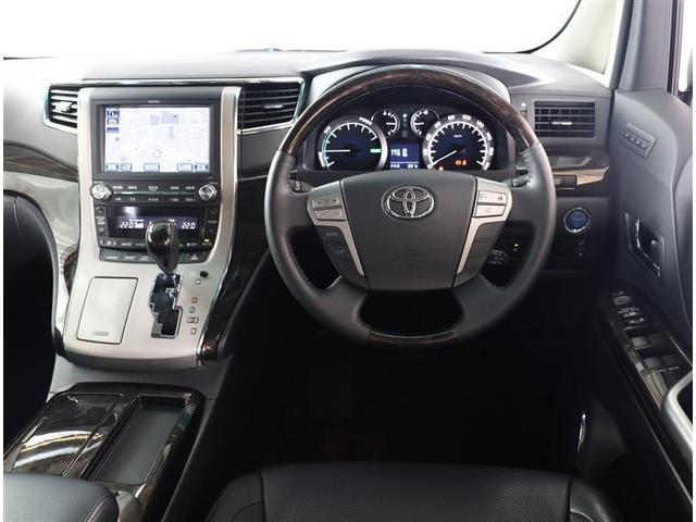 SR プレミアムシートパッケージ 純正ナビ サンルーフ 4WD 本革シート 両側電動スライドドア パワーバックドア ETC 記録簿 地デジ Bluetooth(4枚目)