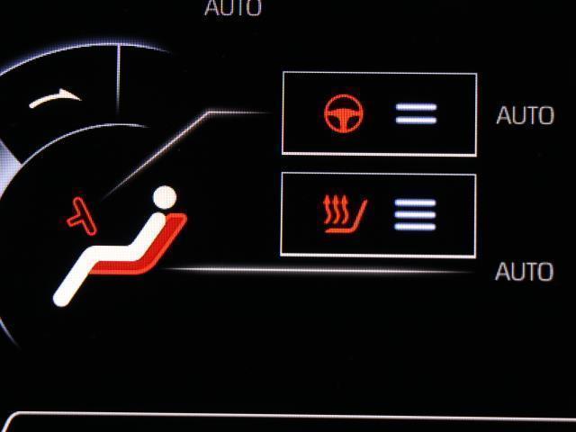 快適装備のシートヒーター付き。 エアコンって前面しか当たらずに背中は冷え冷えなんて事もありますよね。 ベンチレーションシートがあれば、快適に調整できますよ。