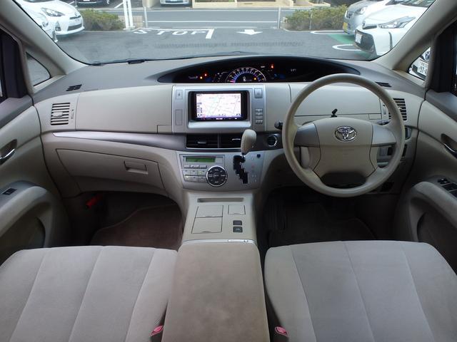 トヨタ エスティマハイブリッド X 社外HDDナビ フルセグ バックモニター HID ETC