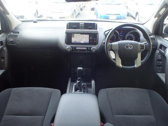 トヨタ ランドクルーザープラド TX 純正SDナビ サンルーフ ドライブレコーダー