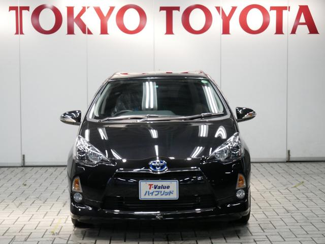 トヨタ アクア 1.5Gブラックソフトレザーセレクション モデリスタエアロ