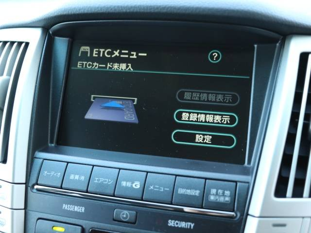 トヨタ ハリアー 240G Lパッケージ フルセグ HDDナビ ETC