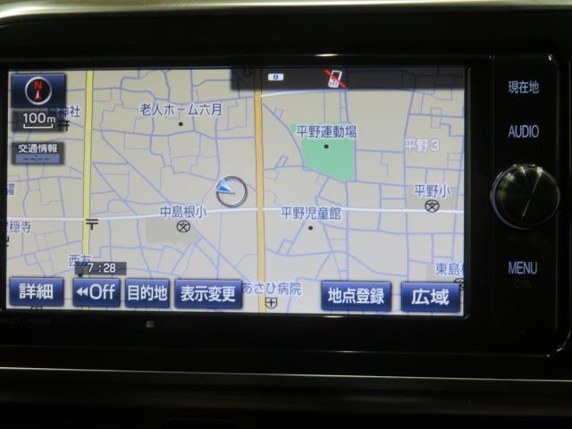 G LEDヘットライト 地デジTV 3列 リアカメラ スマキー メモリ-ナビ キーフリー TVナビ ETC DVD イモビライザー CD 記録簿 ABS ウォークスルー ワンオーナカー 両側電動D AAC(5枚目)