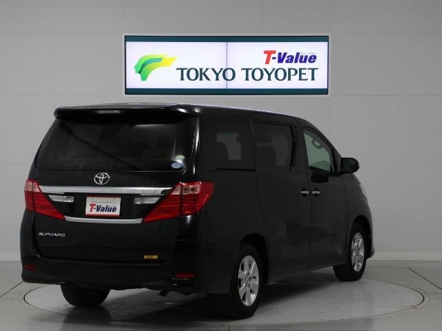 トヨタ アルファード 240X HDDナビ バックカメラ ワンオーナー HID