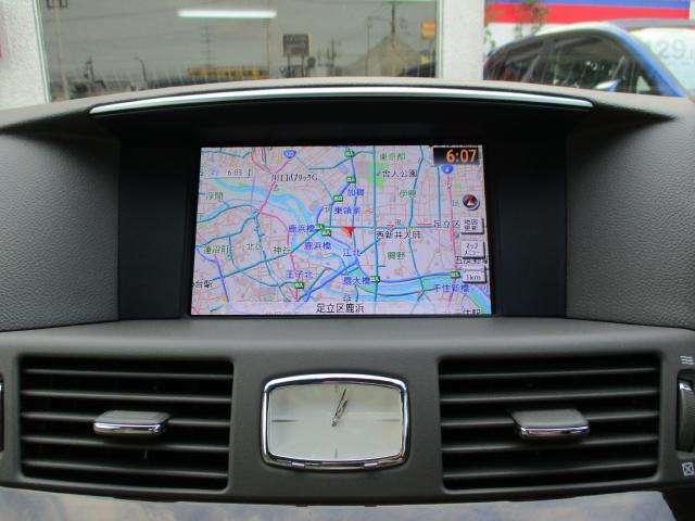 370GT メーカー装着HDDナビ フルセグTV(4枚目)