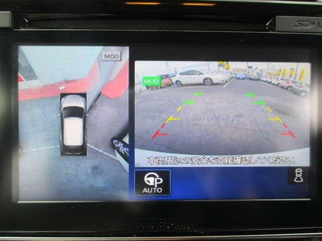 アラウンドビューモニター(全周囲カメラ)☆駐車時や安全確認に役立ちます!!