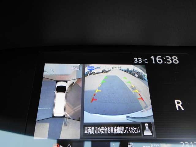 ハイウェイスター 2.0 ハイウェイスター 後席モニター エマージェンシーブレーキ 踏み間違い防止 アラウンドビュー  ドライブレコーダー 両側オートスライド ETC アルミ サイド&カーテンエアバッグ ワンオーナー(7枚目)