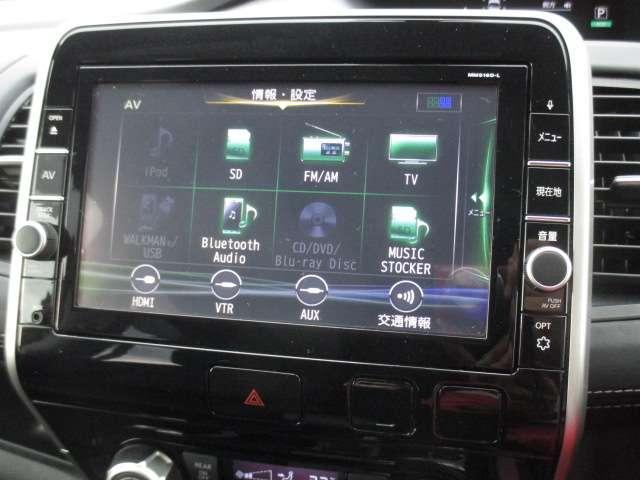 ハイウェイスター 2.0 純正大画面ナビ(MM516D-L) フルセグ Bluetooth Blu-ray再生 バックカメラ 後席フリップダウンモニター 両側オートスライドドア LEDヘッドライト クルーズコントロール(6枚目)