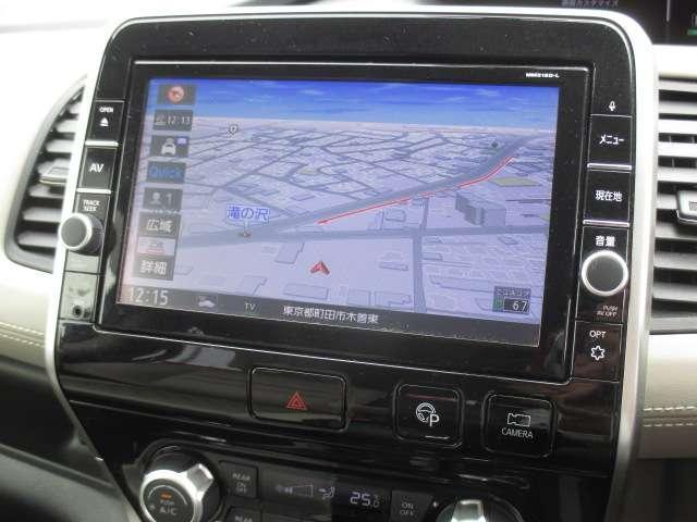 ハイウェイスター Vセレクション 2.0 4WD 純正大画面メモリーナビ(MM518D-L) フルセグ Bluetooth Blu-ray再生 アラウンドビューモニター 両側ハンズフリーオートスライドドア LEDヘッドライト(3枚目)