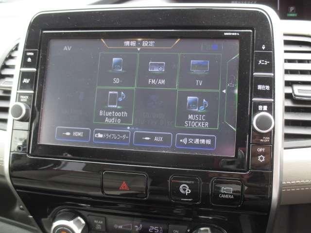 ハイウェイスター Vセレクション 2.0 4WD 純正大画面メモリーナビ(MM518D-L) フルセグ Bluetooth Blu-ray再生 アラウンドビューモニター 両側ハンズフリーオートスライドドア LEDヘッドライト(7枚目)