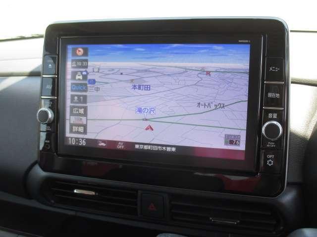 660 ハイウェイスターX エマージェンシーブレーキ 純正メモリーナビ(MM320D-L) 9インチ画面 フルセグ Bluetooth アラウンドビューモニター LEDヘッドライト オートスライドドア オートハイビーム インテリキー 当社下取り1オーナー(3枚目)