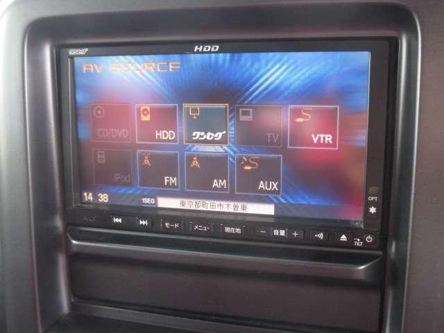 15M プラスナビHDD SP 純正HDDナビ ワンセグ CD録音 EТC 3列シート 7人乗り インテリジェントキー プラスチックドアバイザー ビターショコラ 赤シート地(6枚目)