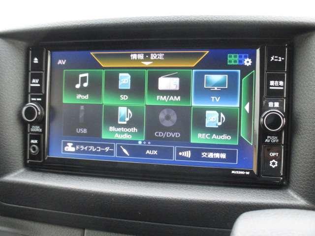 ロングプレミアムGX 純正メモリーナビ(MJ320D-W) フルセグ Bluetooth CD録音 EТC アラウンドビューモニター エマージェンシーブレーキ LEDヘッドライト オートエアコン フォグランプ(10枚目)