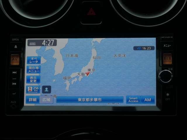 1.2 X DIG-S バックモニター エアバッグ バックM パワステ AC ナビ付 ワンオーナー車 CDチューナー ETC メモリーナビ ABS 記録簿 アイドリングST キーフリ- スマートKEY(4枚目)