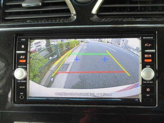 駐車やカーライフに便利なバックモニター