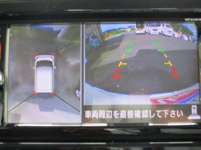 アラウンドビューモニターが駐車をサポートしてくれますよ!!