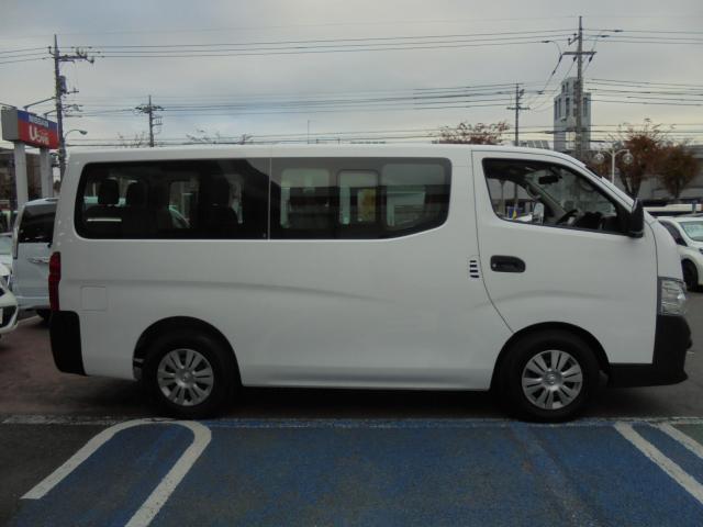 日産 NV350キャラバンワゴン DX ロング 10人乗り ナビTV