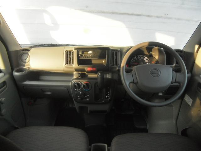 日産 NV100クリッパーバン DX HR オートギアシフト 2速発進モード