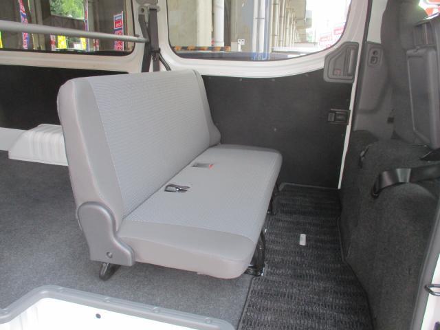 日産 NV350キャラバンバン 1.2t DX 低床 ロング 日産純正メモリ-ナビ