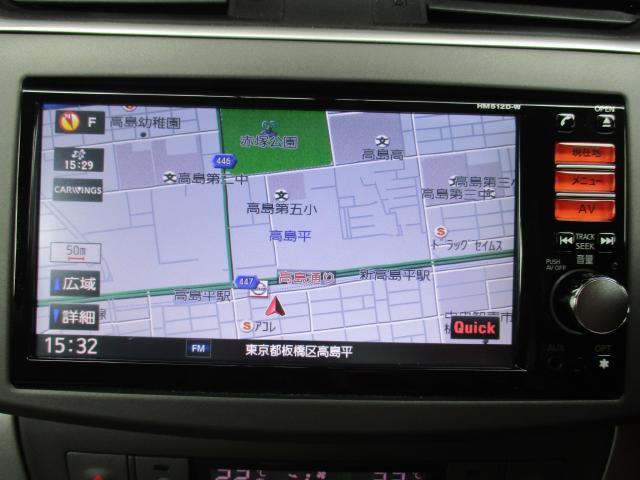 X 日産純正HDDナビ フルセグテレビ(4枚目)