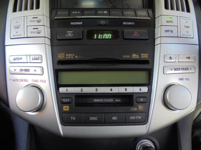 トヨタ ハリアー 350G プレミアムLパッケージ ★純正HDDナビ