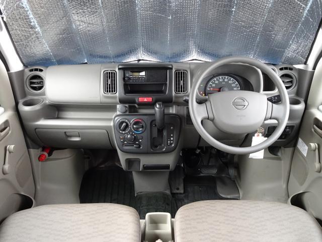 インパネまわり 高い座高と視界性のよい運転ポジションで、長距離でもラクラク〜♪