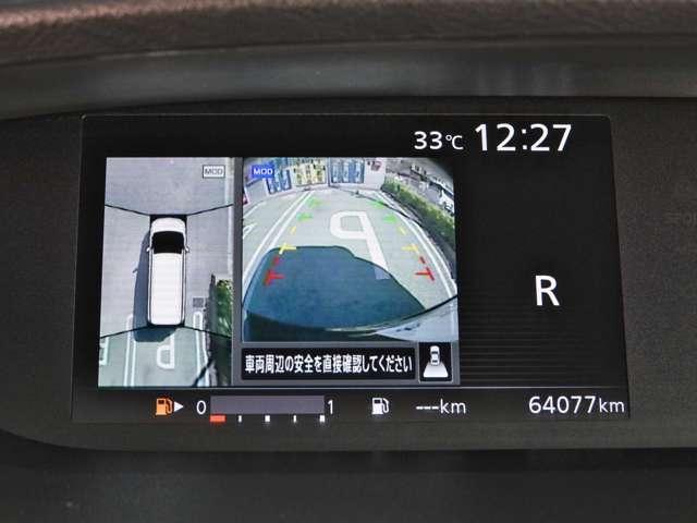 X Vセレクション ワンオーナー 純正メモリーナビ 後席モニター アラウンドビューモニター クルーズコントロール 両側オートスライドドア LEDライト 踏み間違い防止(6枚目)