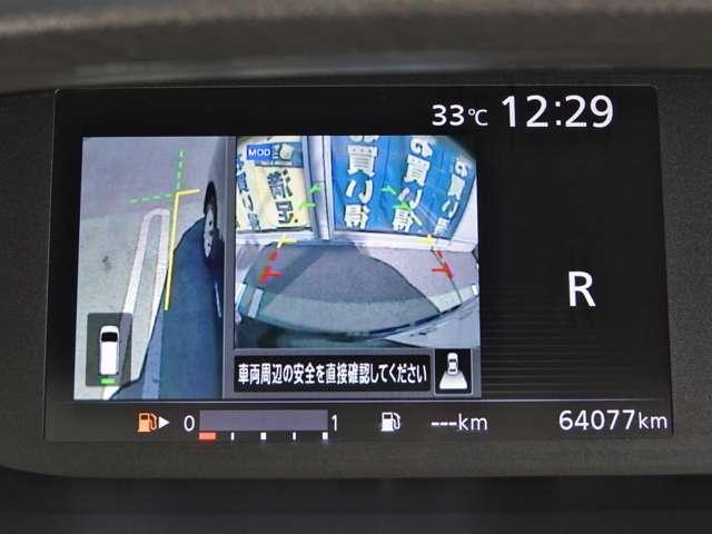 X Vセレクション ワンオーナー 純正メモリーナビ 後席モニター アラウンドビューモニター クルーズコントロール 両側オートスライドドア LEDライト 踏み間違い防止(7枚目)