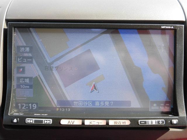 日産 マーチ 12S コレットf 純正メモリーナビ 電格ミラー、Pガラス