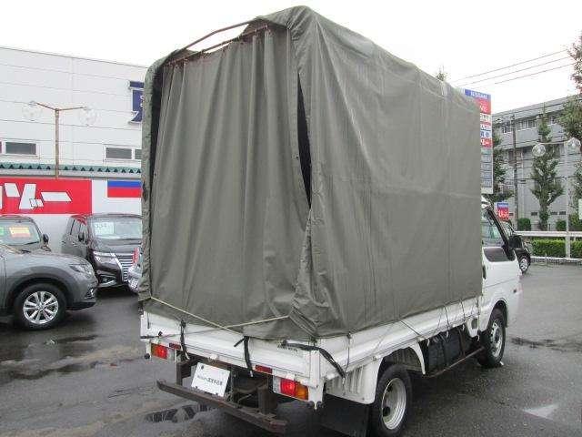 トラック GL 2人乗り 幌付 リヤWタイヤ 850キロ積(2枚目)