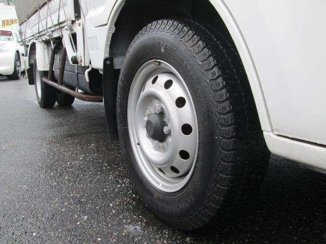 トラック GL 2人乗り 幌付 リヤWタイヤ 850キロ積(10枚目)