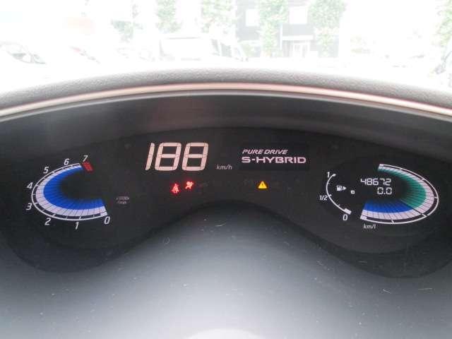 S-HYBRIDまさにこれからの車です!おすすめです走行48000km