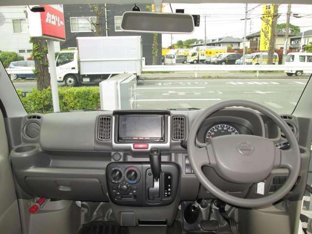 660 DX ハイルーフ 5AGS車 純正メモリーナビ ナビ 記録簿 メモリーナビ パワーステアリング エアバッグ エアコン ABS CD ワンオーナー車 運転席助手席エアバック(4枚目)