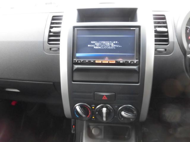 日産 エクストレイル 20S 4WD 純正メモリーナビ リモコンキー ETC