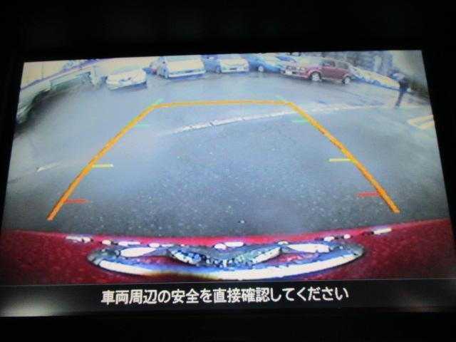 バックビューカメラ付なので駐車時も安心です☆