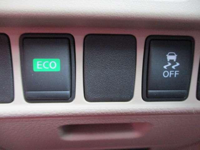 横滑り防止装置付き!ECOモードで燃費向上!