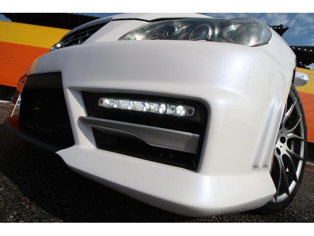 トヨタ マークX 250G Sパケ LDJフルバンパー 新品TEIN車高調