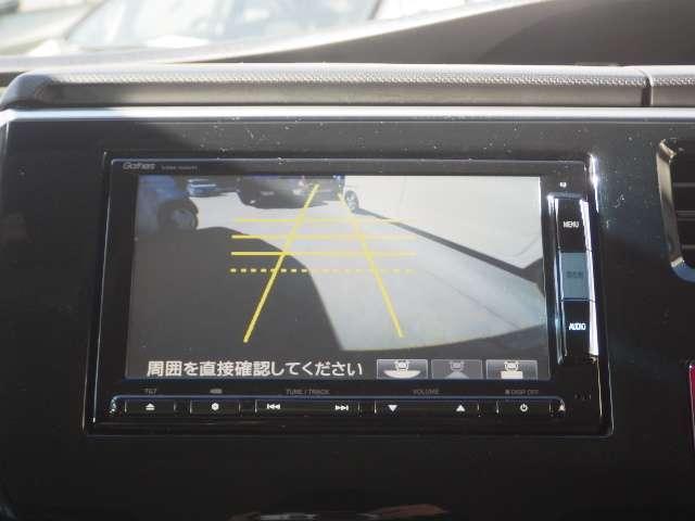 【バックカメラ】バックカメラも装備!車庫入れなどの時も安心ですよ
