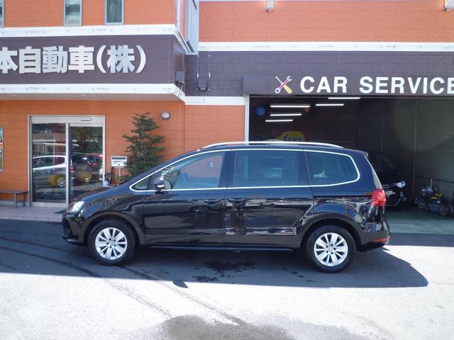 フォルクスワーゲン VW シャラン TSIコンフォートライン1オーナー両側パワスラSDナビTV